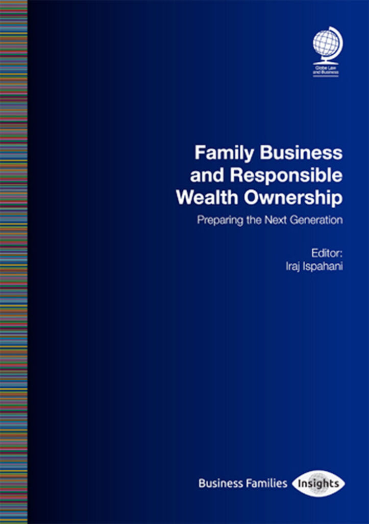 Book cover for Family Business and Responsible Wealth Ownership